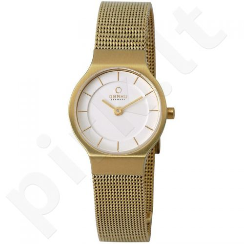 Moteriškas laikrodis OBAKU OB V133SGIMG