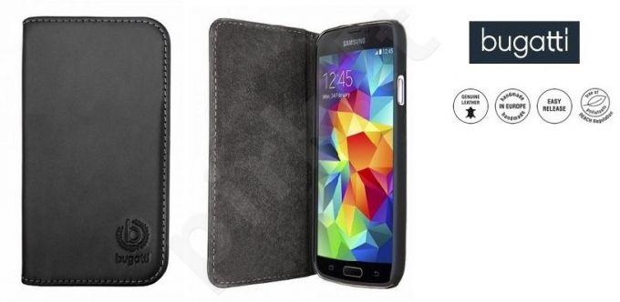 Samsung Galaxy S5 atverčiamas dėklas OSLO Bugatti juodas