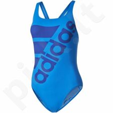 Maudymosi kostiumėlis Adidas Infinitex+ Solid One Piece Swimsuit W AY2833