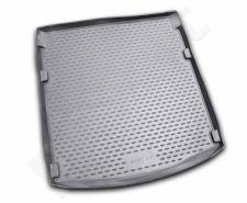 Guminis bagažinės kilimėlis AUDI A4 B8 2007-2015 sedan black /N03003