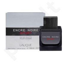 Lalique Encre Noire Sport, tualetinis vanduo vyrams, 100ml