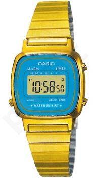 Laikrodis CASIO   LA-670WGA-2 Vintage chronografas,  , Timer, wr 30  **ORIGINAL BOX**