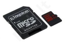 Kingston microSDHC 32GB UHS-I U3 (read/write;90/80MB/s) + Adapter