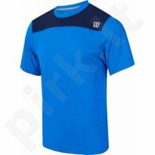 Marškinėliai tenisui Wilson Knit Stretch Woven Crew M WRA736202