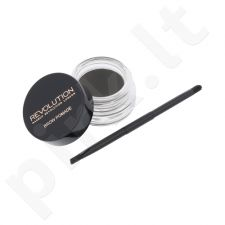 Makeup Revolution London antakių gelis With Double Ended Brush, kosmetika moterims, 2,5g, (Graphite)