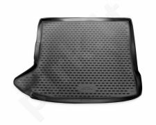 Guminis bagažinės kilimėlis AUDI Q3 2015->  black /N03007