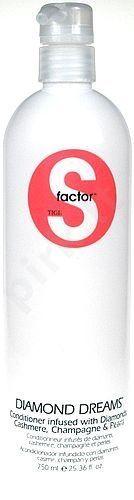 Tigi S Factor Diamond Dreams žvilgesį suteikiantis kasdienis plaukų kondicionierius, 250ml