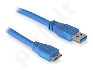 Delock Cable USB 3.0 AM > Micro USB 3.0, 1m