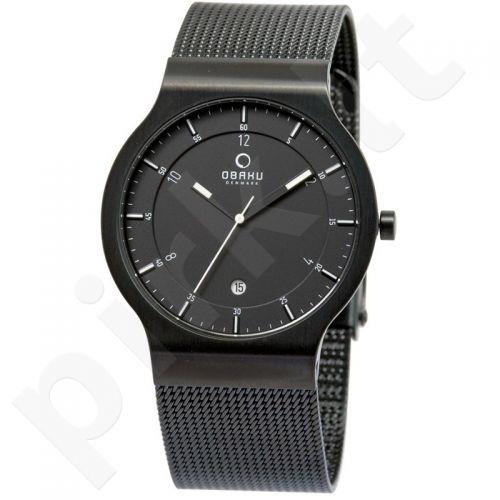 Vyriškas laikrodis OBAKU OB V133XBBMB