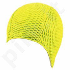 Kepuraitė plaukimui moterims gum-bubble 7300 2 yellow