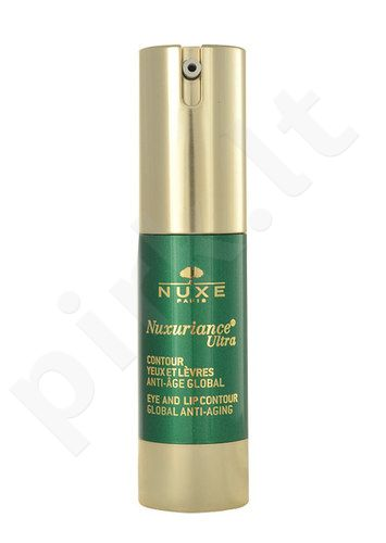 Nuxe Nuxuriance Ultra Eye And Lip Contour, kosmetika moterims, 15ml
