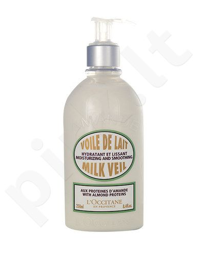 L´Occitane Almond Milk Veil, kosmetika moterims, 250ml