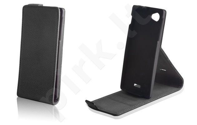 HTC Desire 500 dėklas ELEGANCE Forever juodas