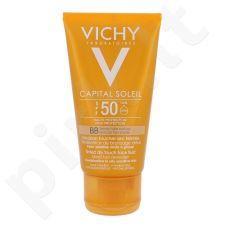Vichy Capital Soleil BB  atspalvį suteikiantis, apsauginis veido kremas SPF50+, kosmetika moterims, 50ml, (testeris)