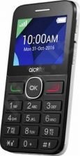 Telefonas Alcatel 2008G juodas