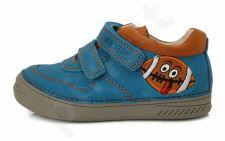 D.D. step mėlyni batai 25-30 d. 040406bm