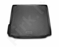 Guminis bagažinės kilimėlis BMW X5 (F15) 2013->  black /N04016