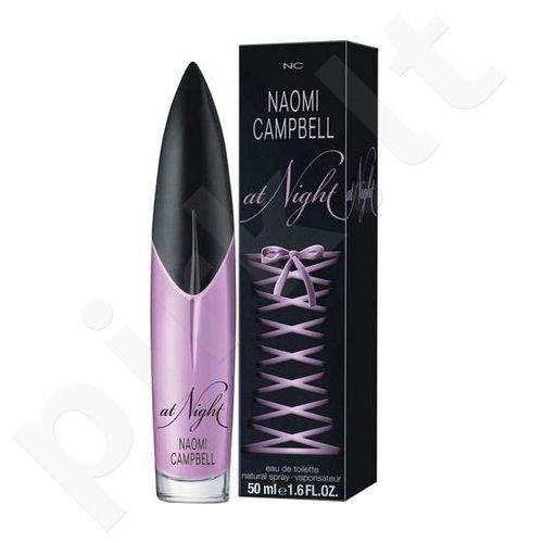 Naomi Campbell Naomi Campbell At Night, tualetinis vanduo (EDT) moterims, 50 ml