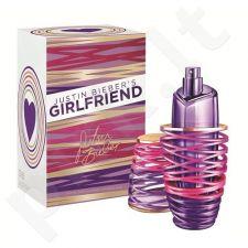 Justin Bieber Girlfriend, kvapusis vanduo moterims, 100ml, (Testeris)