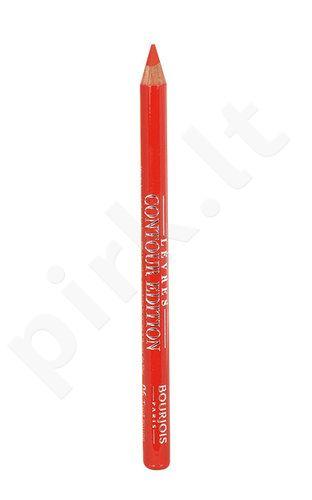 BOURJOIS Paris lūpų pieštukas, kosmetika moterims, 1,14g, (06 Tout Rouge)