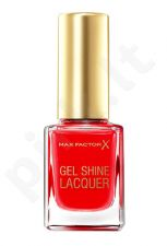 Max Factor gelis Shine Lacquer, kosmetika moterims, 11ml, (50 Radiant Ruby)