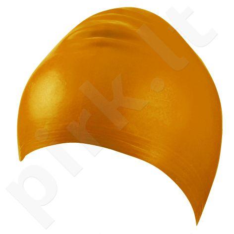 Kepuraitė plaukimui unisex lateksinė 7344 3 orange