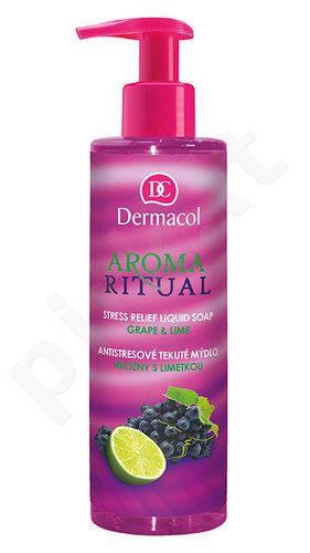 Dermacol Aroma Ritual Liquid muilas Grape&Lime, kosmetika moterims, 250ml
