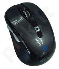 Bevielė pelė i-Tec Optinė Bluetouch 243 - Bluetooth 800/1200/1600 DPI Juoda
