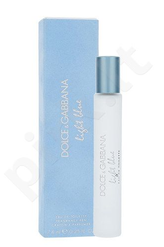 Dolce & Gabbana Light Blue, EDT moterims, 7,4ml