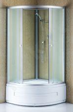 Dušo kabina R8503 100x100 white