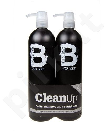 Tigi (750ml Bed Head Men Clean Up šampūnas + 750ml Bed Head Men Clean Up kondicionierius) Bed Head Men Clean Up, 1500ml, [Cosmetic], vyrams