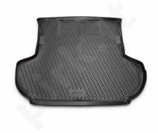 Guminis bagažinės kilimėlis CITROEN C-Crosser 2007 -2010 (w subwoofer) black /N08020