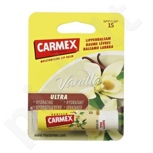 Carmex Vanilla, lūpų balzamas moterims, 4,25g