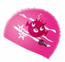 Kepuraitė plaukimui vaikams SEALIFE silikoninė 73942 4 pink