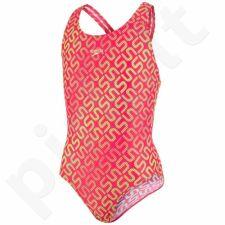 Maudymosi kostiumėlis Speedo Monogram Allover Splashback Junior 8-08833B097