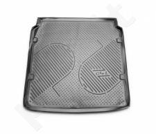 Guminis bagažinės kilimėlis CITROEN C4 sedan 2013->  black /N08011