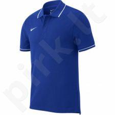 Marškinėliai futbolui Nike Polo Team Club 19 SS M AJ1502-463