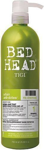 Tigi Bed Head Re-Energize, šampūnas moterims, 250ml