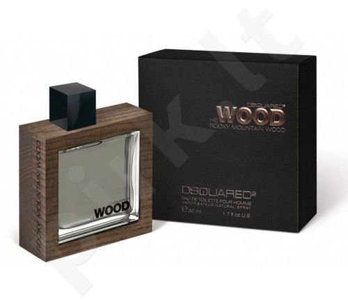 Dsquared2 He Wood Rocky Mountain Wood, tualetinis vanduo vyrams, 100ml