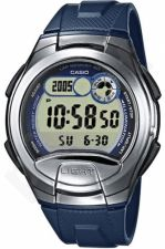 Laikrodis CASIO   W-752-2A Illuminator.2 time zones. Multi  . Calendar. wr100  **ORIGINAL BOX**
