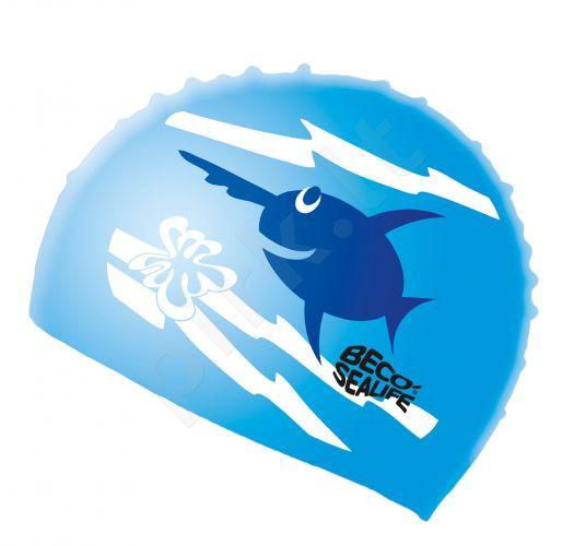 Kepuraitė plaukimui vaikams SEALIFE silikoninė 73942 6 blue