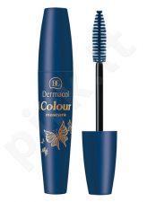 Dermacol Colour blakstienų tušas, kosmetika moterims, 10ml, (2 Navy Blue)