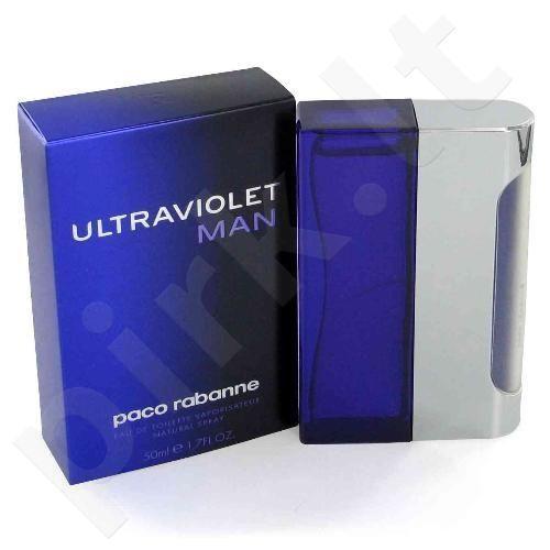 Paco Rabanne Ultraviolet, tualetinis vanduo (EDT) vyrams, 100 ml (Testeris)