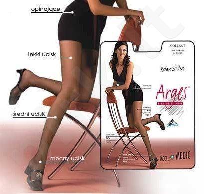 Pėdkelnės  MEDIC 30 denų storio,koreguojančios klubų ir šlaunų linijas bei gerinančios kojų kraujotaką bei neleidžiančios kojoms tinti (grafito)