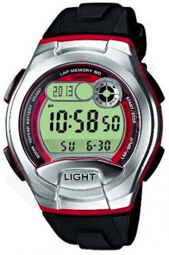 Laikrodis CASIO   W-752-4B Illuminator.2 time zones. Multi  . Calendar. wr100  **ORIGINAL BOX**