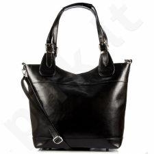 DAN-A T195B juoda rankinė odinė