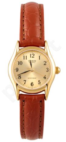 Laikrodis CASIO LTP-1094Q-9B Classic. oda strap. wr 50 **NO BOX**