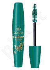 Dermacol Colour blakstienų tušas, kosmetika moterims, 10ml, (3 Petroleum)