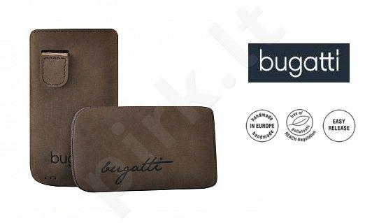 VELVETY universalus dėklas i4 Bugatti šokolado spalvos