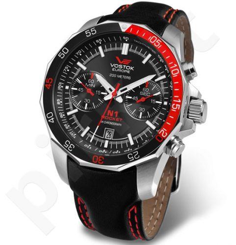 Vyriškas laikrodis Vostok Europe Rocket N1 Chrono Quartz 6S21-2255295